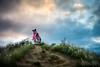 lanikai pillbox hike leica sl noctilux 50mm f/0.95 joe marquez 1030122 (The Smoking Camera) Tags: lanikai pillbox hike trail bunker oahu kailua hawaii windward sunset photographer street candid leica sl noctilux 50mm clouds bokeh dof