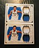 Pair of 2015-16 National Treasures Andrew Wiggins Dual Game Gear Jersey Cards. #'d 12/75, 70/75. (CardKing739) Tags: nba nationaltreasures andrewwiggins gamegear jersey jerseycard jerseycards relic reliccard sports sportscards blowoutcards whodoyoucollect photo pic art white blue gold fav100 fav25 pinterest instagram tumblr facebook nike adidas underarmour canada mapleleaf