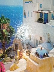 Santorini, Greece Puzzle (Irish Colonel) Tags: usa kentucky lexington puzzles puzzle greece santorini