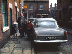 Jack Brown's Ford Consul in Angle Street Leek. Taken by Jack Brown. (Yesteryear-Automotive) Tags: classic ford consul leek staffordshire