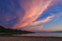 Sunset at Athol Bay - 0097 (RG Rutkay) Tags: clouds sandbanks beach camping evening family landscape nature scenic sundown sunset twilight