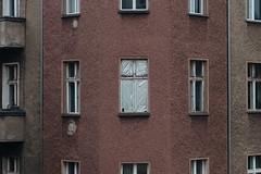 CHEFHAIN, Berlin / Germany 2017 (monoauge) Tags: fujifilm fuji fujifilmx70 fujix70 fujilove chefhain berlin ducttape windows fenster abandoned friedrichshain berlinfriedrichshain eastberlin ostberlin street streetphotography urban urbanphotography altbau streetshot