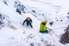 Ice climbing (nordanheidar) Tags: iceland icesar ice iceaxes iceclimbing winter snow cold outdoors