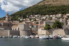 Dubrovnik (bruno vanbesien) Tags: croatia dubrovnik hrvatska boat church hr