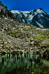 Emerald Lake Aiguille du Midi (jay_kilifi) Tags: alps snow ice chamonix france sky green emerald glow nature outdoors hiking walking balcon summer trekking clean crisp air