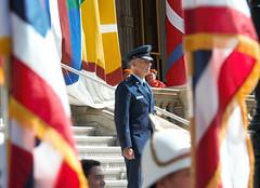 Royal Guard Re-creatioin Ceremony (Hawaii Air National Guard) Tags: hiang hawaiiairnationalguard 154thwing hawaii royalguard briggengreogoryswoodrow woodrow woody iolanipalace jointbasepearlharborhickam hi unitedstates us