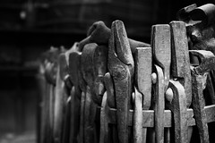 Blacksmith Tools (Photos By Clark) Tags: california canon2470 unitedstates location northamerica canon60d locale places where indio us lightroom iron tool blacksmith forge nik silverefx