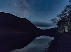 Starry Night (jasty78) Tags: night stars milkyway loch hills lochlubnaig scotland nikond7200 tokina1116mm starrynight reflection