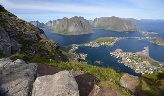 Reinebringen in Norway