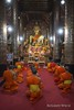 Luang Prabang - Praying Monks (Rolandito.) Tags: southeast south east asia laos lao pdr luang prabang praying monks