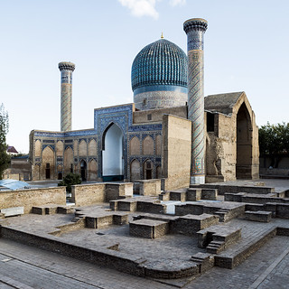 The Mausoleum of Tamerlane.