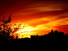 New York Sunset (dimaruss34) Tags: newyork brooklyn dmitriyfomenko image sky clouds sunset