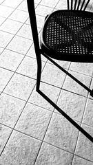 Sedia (carlini.sonia) Tags: sonia luce ombra linee sedie minimal bn bw