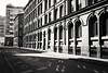 Manchester city centre April 2017 (The Green Hornet ( Manchester)) Tags: manchestercitycentre buildings architecture arches arch windows grand victorian industrialrevolution monochrome f8lm pulled iso photography street documentary shadow tones light pulleddevelopment canonaf7 plasticcamera analog automatic exposure sureshotaf7 canonowl pointandshoot lomo lomography 35mmfilm ilfordxp2