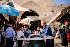 Damascus Gate (Nuuttipukki) Tags: damascus gate jerusalem israel travel markets stand händler vendors old town city street