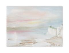 Côte d'Opale (Yvan LEMEUR) Tags: côtedopale falaises rivages aquarelle acuarela watercolour paysage landscape peinture