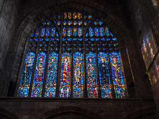 * Chester Cathedral: Stained Glass Window