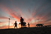 going home (Keoni Cabral) Tags: oceanbeach beach calf cali california family goodday oceanbeachsandiego outdoors outside sandiego silhouette sky socal socali sunset unitedstates us