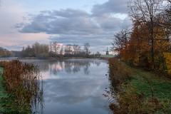 Dutch autumn :) (www.mroosfotografie.nl) Tags: dutch windmill fujifilm xt20 clouds beautiful light reflection fog wwwmroosfotografienl water walk autumn cold fros frost ripe dauw koud herfst bleiswijk rottemeren