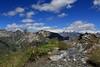 Val d'Aosta . Valle di Saint Barthlemy: Col Chaleby, Monte Rosa, Cima Bianca, Cian (mariagraziaschiapparelli) Tags: montagna mountain valdaosta valledisaintbarthlemy colchaleby allegrisinasceosidiventa escursionismo camminata colle estate