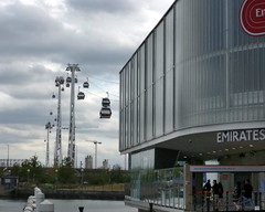 emirates airline pan (n.a.) Tags: pano panoramic stitch emirates airline royal victoria docks london docklands cable car