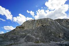 Mammoth Springs mound, Yellowstone NP, USA (Andrey Sulitskiy) Tags: usa wyoming yellowstone