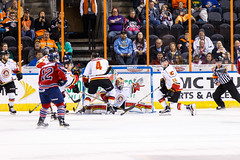 "Kansas City Mavericks vs. Kalamazoo Wings, November 29, 2017, Silverstein Eye Centers Arena, Independence, Missouri.  Photo: © John Howe / Howe Creative Photography, all rights reserved 2017 • <a style=""font-size:0.8em;"" href=""http://www.flickr.com/photos/134016632@N02/38713479082/"" target=""_blank"">View on Flickr</a>"