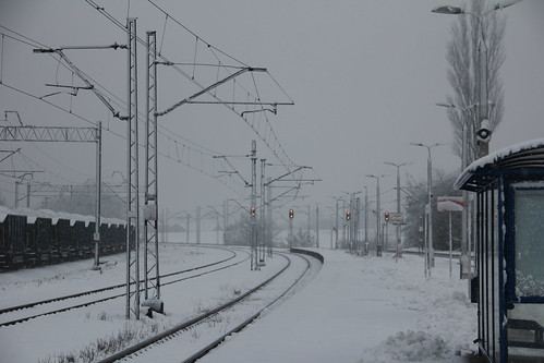 Kraków Batowice train station 30.11.2017