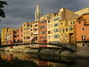 Lovely Girona. (France-♥) Tags: 431 gerone girona catalonia spain espagne river onyar building édifice reflets reflections warm pont bridge puente water architecture