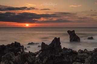 Sunset at Playa Bermeja, Lanzarote