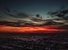 Chasing the Sun (piano62) Tags: djimavicpro sunset sky colors irvingpark chicago 350 fall2017