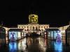 Christmastime in Berlin (Shahrazad26) Tags: charlottenburg berlijn berlin germany duitsland deutschland kasteel paleis castle palace nightshot nachtopname weihnachtsmarkt kerstmarkt christmasfair regen rain plui