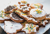 Lebkuchen verschiedener Formen, passend zu Weihnachten dekoriert (marcoverch) Tags: bake colored dessert sweet background holiday biscuit delicious homemade decoration fresh stack shape baked sugar eating comfort closeup christmas texture tasty white traditional colorful sprinkles cake cookie pink decorated sprinkle cookies bakery food pastry decorate isolated tamron truck portugal boats maitreya airport blur harbour catwa lebkuchen formen weihnachten dekoriert