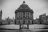 Radcliffe Camera, Oxford, Winter 2017 (Stanislav Halcin) Tags: oxford radcliffecamera bodleianlibrary university bw blackandwhite