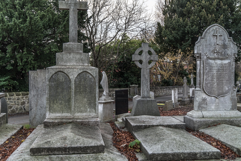 MOUNT JEROME CEMETERY IS AN INTERESTING PLACE TO VISIT [IT CLOSES AT 4PM]-134329