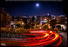 Super Street Light (Praveen's PRotography) Tags: crooked street lombard sanfrancisco december 2017 supermoon california usa longexposure car streaks tail lights coit tower bay bridge nightphotography full moon cityscape landscape nikond600