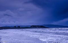 Heavy Clouds!! (BGDL) Tags: lightroomcc nikond7000 bgdl landscape afsnikkor18105mm13556g seascape firthofclyde prestwick saltpans afewofmyfavouritethings weeklytheme flickrlounge