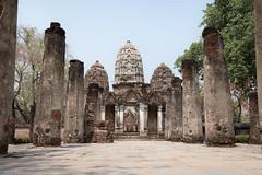 Sukhothai tempel (René Blauwendraat) Tags: thailand sukhothai tempel old ruin nikon d610 2470