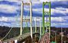 Tacoma Narrows (Miradortigre) Tags: bridge puente usa northwest state washington tacoma narrows suspension