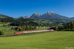 ÖBB 1144 261 bei Edlbach (TheKnaeggebrot) Tags: öbb 1044 1144 rex cityshuttle regionalzug pyhrnbahn pyhrn edlbach 1144261 zug rail train