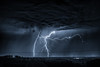 Sommergewitter (louhma) Tags: lightning storm stormy clouds cloudy nightsky night longexposure rain nikon d750 gewitter blitz