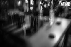 Libations (SopheNic (DavidSenaPhoto)) Tags: impressionisticphotography fujinon18mmf2 libations bw icm intentionalcameramovement drinks bnw fuji xt2 multipleexposure blackandwhite fujifilm impressionism