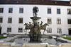 Schloss Zeil (otto.detlef) Tags: himmel sky gebäude schloss arichitektur brunnen deutschland germany bayern nokia nokiad5300 d5300 castle lock