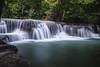 flowing (Flutechill) Tags: kanchanaburi thailand huaymaekhaminwaterfall waterfall nature river forest tropicalrainforest tree water stream scenics beautyinnature freshness leaf falling outdoors heaven purity landscape greencolor rockobject