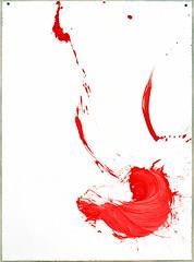 2000.09-2001.02[4] Paper red ink and metal plate oil painting Taipei Shenkeng Caodiwei studio 纸上朱墨与金属板上油画 台北深坑草地尾工作室-28 (8hai - painting) Tags: 2000092001024 paper red ink metal plate oil painting taipei shenkeng caodiwei studio 纸上朱墨与金属板上油画 台北深坑草地尾工作室 yang hui bahai
