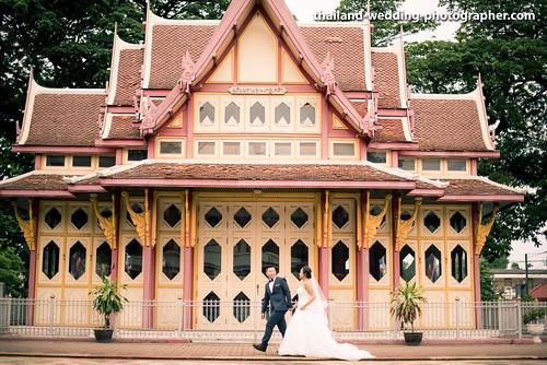 Hua HIn Railways Station Wedding Photography
