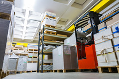Industrial Paper Storage Warehosue Forklift Palettes Shelves Printing Industry Materials (HunterBliss) Tags: background box boxes brown building business cardboard carton cellulose corridor development distribution equipment export factory goods indoor industrial industry interior logistic machines making manufacturing material mill package packaging pallet pallets paper pile plant print printing product production rack roll row shelf shipping stack stock storage store storehouse warehouse white work