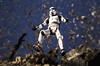Bang and the trooper is gone (jezbags) Tags: bandai star wars stormtrooper explosion canon60d canon 60d 100mm closeup upclose starwars stormtroopers storm troopers trooper dirt practical effects
