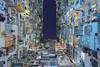 Tetris (renan4) Tags: urban architecture hongkong asia travel trip nikon d800 renan4 renan gicquel symetry graphic perspective cityscape city building colors night yickcheong lookingup lookup