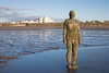 Another Place 02 nov 17 (Shaun the grime lover) Tags: liverpool sculpture seashore water beach sand tide statues cast iron antonygormley anotherplace crosby shore installation art human figures blundellsands